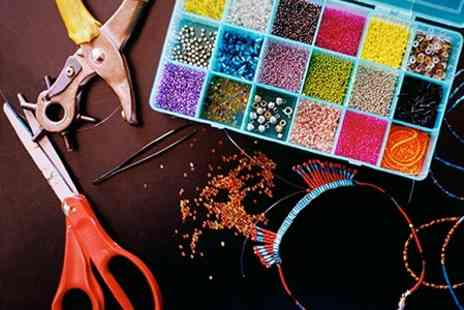 Bead & Button Bazaar - Jewellery Making Workshop - Save 52%