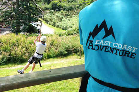 East Coast Adventure - Zip Line Experience and Archery - Save 60%
