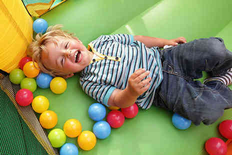 i Play Centres - Soft Play Pass and Meal for Two - Save 55%