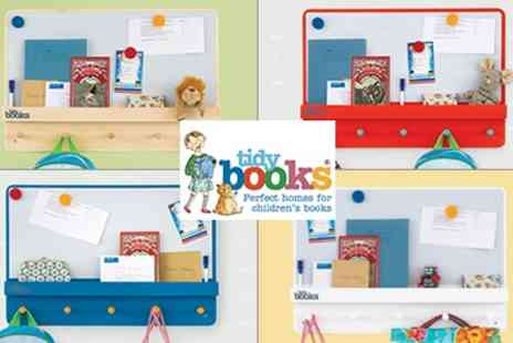 Tidy Books - Family Organiser Shelving Unit ForgetmeNot - Save 30%