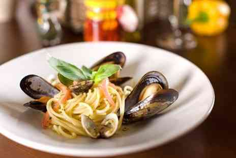 Elianos Brasserie - Two Course Italian Meal For Two - Save 54%