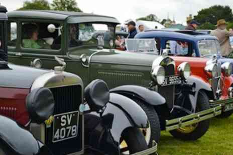 Hampshire Classic Motor Show - Classic Rally and Autojumble Entry For Family of Four - Save 53%