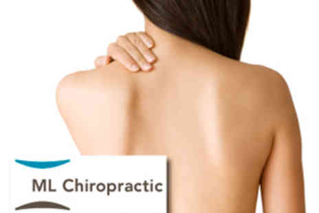 ML Chiropractic - 4 Chiropractic Sessions, £58 instead of £195 - Save 70%