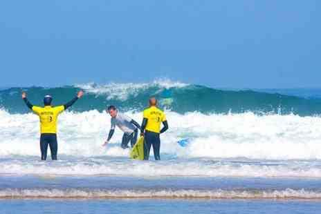 Arrifana Surf Lodge - In Algarve Seven Nights With Surfing Lessons Transfers and Meals - Save 48%