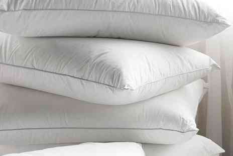 Better Bargains - Pack of four duck feather pillows - Save 64%