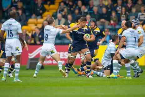 Worcester Warriors - Two Tickets to Worcester Warriors v Leicester Tigers - Save 50%