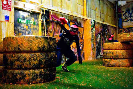 Urban Paintball Edinburgh - Two hours of indoor paintballing for two - Save 94%