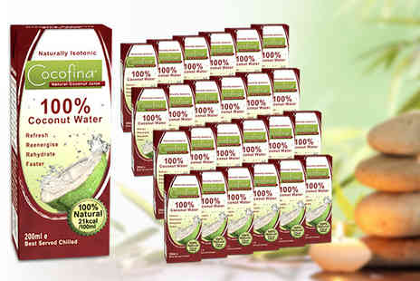 Mood Food Company - 24x 200ml cartons of Cocofina - Save 37%