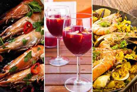 The Cuban - Three delicious tapas dishes paella for two - Save 58%