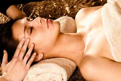 Retreat Beauty & Holistics - Indian head massage Swedish or hot stone massage hot stone facial and a manicure - Save 42%