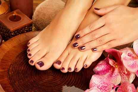 The Laser Clinic - Shellac Manicure or Pedicure - Save 40%