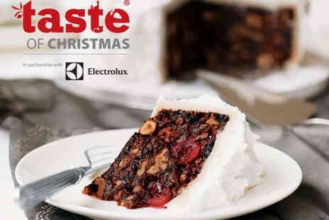 Taste of Christmas - One Standard Weekend Ticket - Save 22%