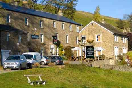 The Punch Bowl Inn - 17th Century Yorkshire Dales Stay with Dinner & Wine - Save 43%