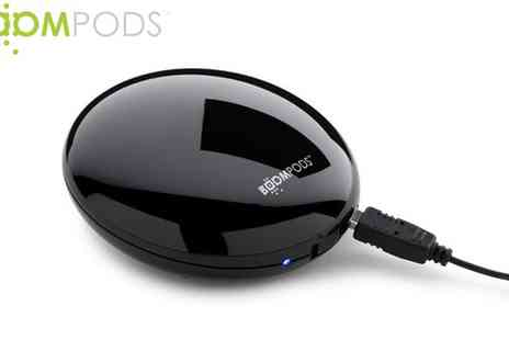 Boompods - BOOMPODS Downdraft Portable Speaker - Save 55%