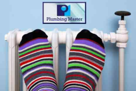 Plumbing Master - Full Gas or Oil Boiler Service - Save 59%