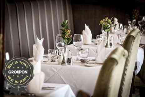 Hatton Court Hotel - Two Course Sunday Lunch For Two With Wine - Save 62%