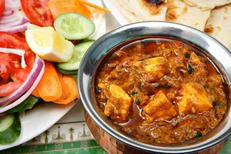 LaLas Batley - Two Indian Courses With Wine For Two - Save 53%