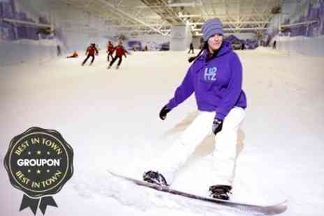 Chill Factore - One Hour Ski or Snowboard Lift Pass - Save 56%