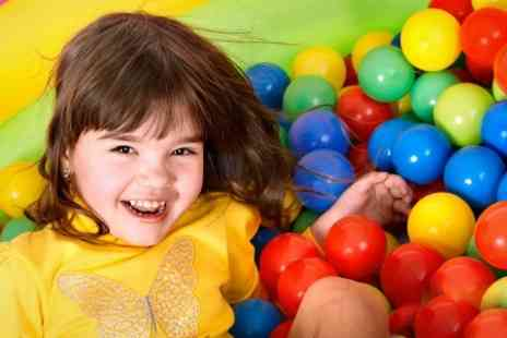 Jungle Kids LLP - Soft Play With Lunch and Drink For Two Children - Save 64%