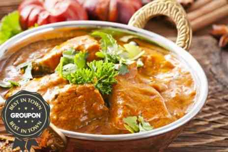 Ashiana Restaurant & Hotel - Indian Fare Two Course Meal For Two - Save 61%