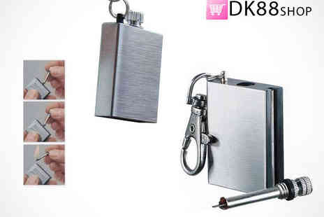 DK88 Shop - Stainless Steel Waterproof Match - Save 60%