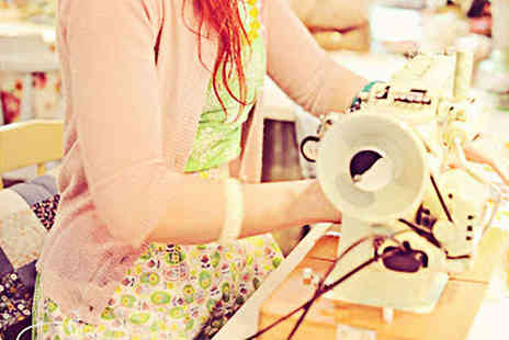 The Button Tin - Six Hour Vintage Craft Workshop with Tea and Cakes - Save 55%