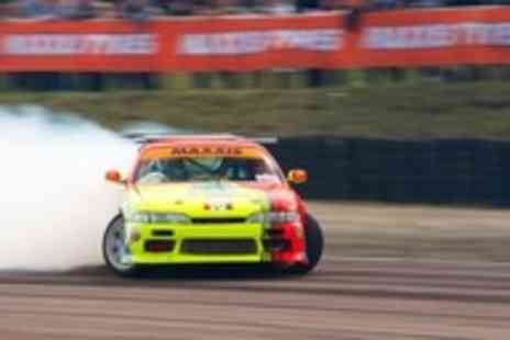 Slide School Drift Academy - Half day Introduction to Car Drifting class - Save 65%