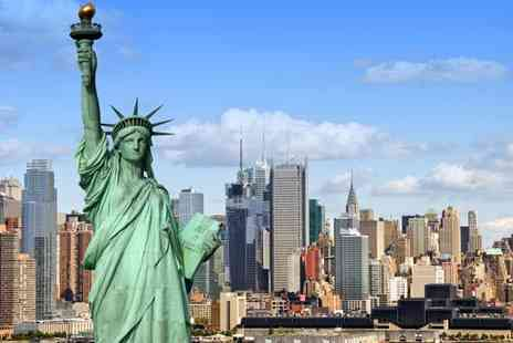 Jetline Holidays - Three Night Stay in New York Hotel with Flights HeliTour & Statue of Liberty - Save 30%