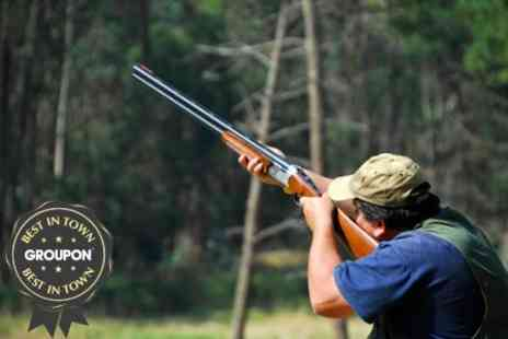 Cloudside Shooting and Sporting Club - Clay Shooting Experience With 50 Clays - Save 75%