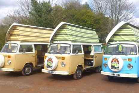 New Forest VW Camper Hire - Hampshire 3 or 4 Nights For Four - Save 63%