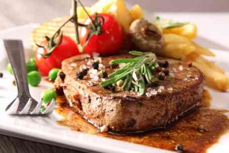 Waggon & Horses - 8oz Steak Meal With Hot Drinks For Two - Save 53%