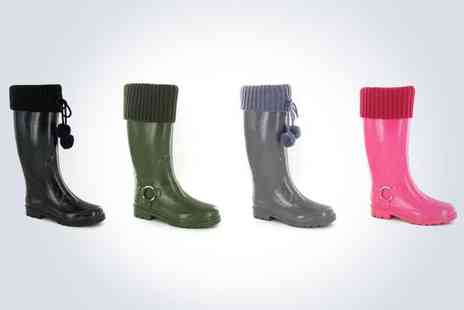 stylepotential.com - Pair of stylish ladies Wellies - Save 50%