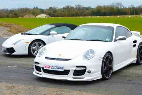 VIP Supercar Experience - Souped up nine lap supercar driving experience - Save 46%
