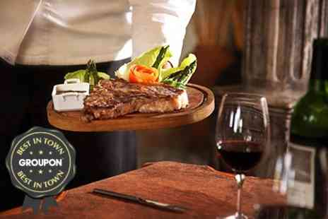 La Fina - Steak or Tapas For Two With Wine - Save 58%