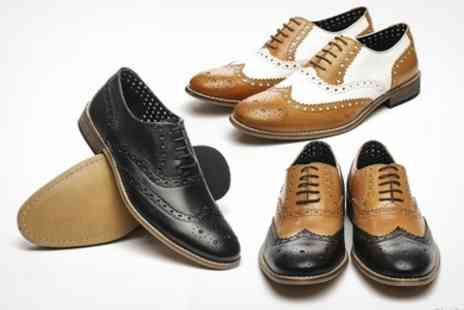 Shuperb - Mens Leather Brogues - Save 50%