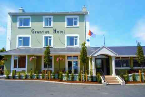 Granvue Hotel - In County Louth One Nights For Two With Breakfast and Wine - Save 51%