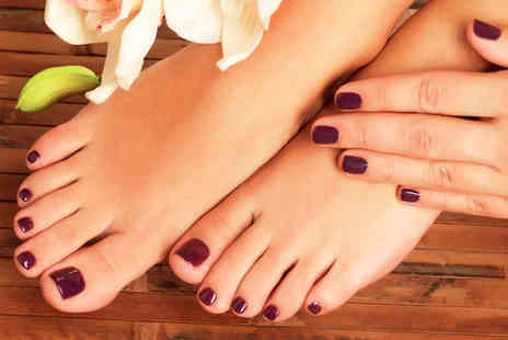 Pamper One - One for a Manicure and Pedicure - Save 56%