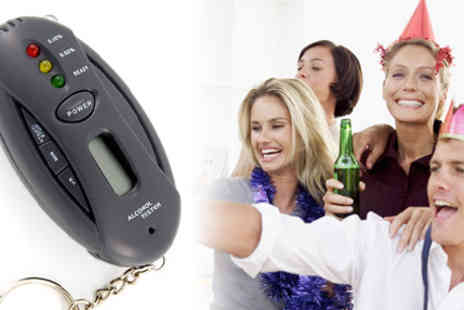 RedHotDealz - LCD Alcohol Breathalyzer - Save 53%