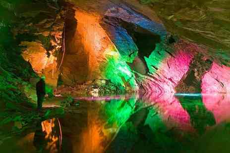 Llechwedd Slate Caverns - Family ticket including a guided tramway ride - Save 54%