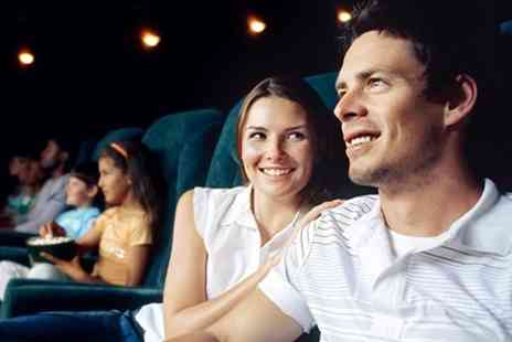 Hollywood Cinema - Hollywood Cinema Movie Tickets With Popcorn and Drinks - Save 50%
