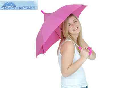 Splash Innovations - Pink or Yellow Childrens Umbrella - Save 30%