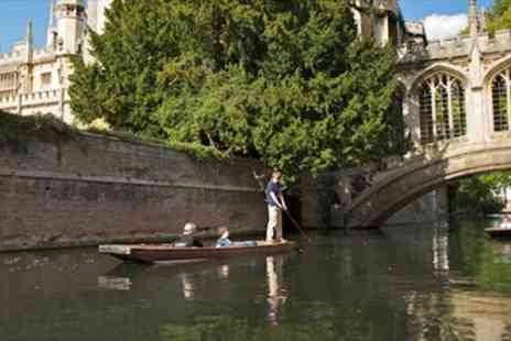 Scudamores Punting Company - Boating for up to Six People in Cambridge - Save 50%