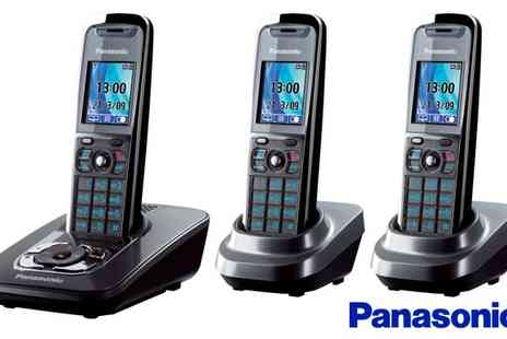 Nimans - Panasonic Cordless Phone Trio - Save 57%
