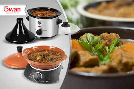 Swan Products - 1.5l tagine & slow cooker - Save 50%
