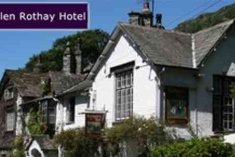 The Glen Rothay Hotel - Two Night Stay For Two With Dinner - Save 60%
