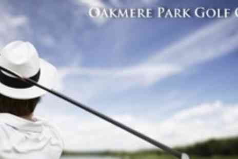 Oakmere Park Golf Club - 18 Holes of Golf For Four With Trolley Hire and 96 Range Balls - Save 64%