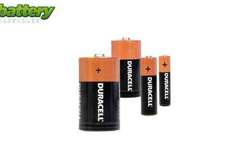 Battery Warehouse - Family Pack of Duracell Alkaline Batteries - Save 50%