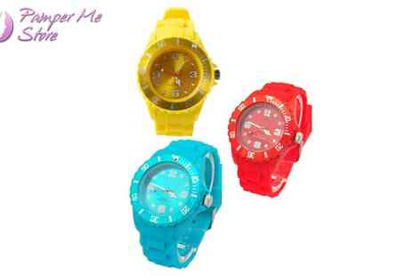 Sterling Distribution - Silicone Watch in a Range of Colours - Save 50%