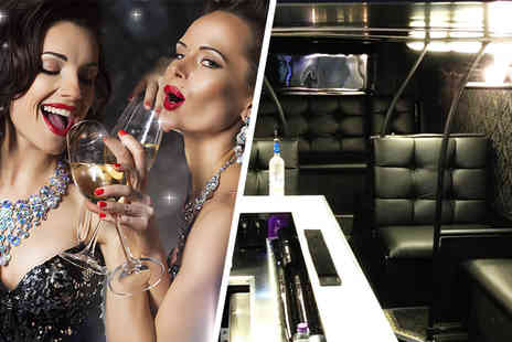 The Vault London - Night onboard party bus nightclub for 1 person including a glass of bubbly and club entry - Save 70%