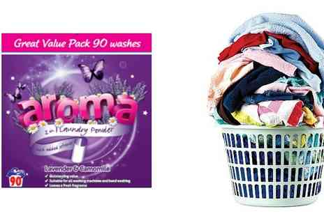 United Homestores - 2 or 4 Boxes of Aroma Laundry Powder - Save 24%